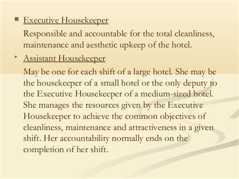 housekeeper duties list anuvrat info