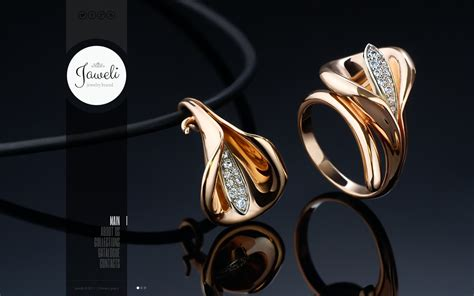 Jewelry Websites by Jewelry Website Template 43966