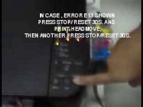 resetter canon mp287 e07 reset canon mp287 error e07 and e13 youtube