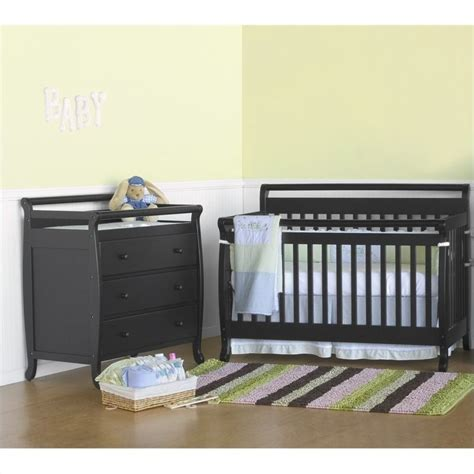 Davinci Nursery Furniture Sets Davinci Emily 4 In 1 Convertible Crib With Changing Table In M4791e Cribset Pkg