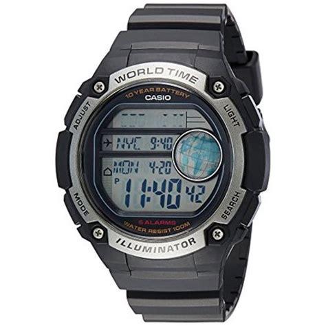 Casio Ae 3000 W casio world time silver ae 3000w 1avef cooclos