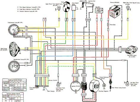 1981 suzuki gs 550 wiring diagram suzuki gn 400 wiring