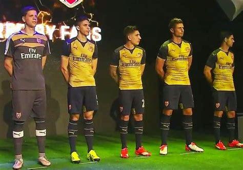 Jersey Arsenal 3rd 2015 2016 new arsenal third kit 2015 2016 arsenal cup jersey 15 16