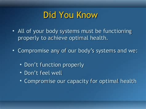 how to achieve optimal health