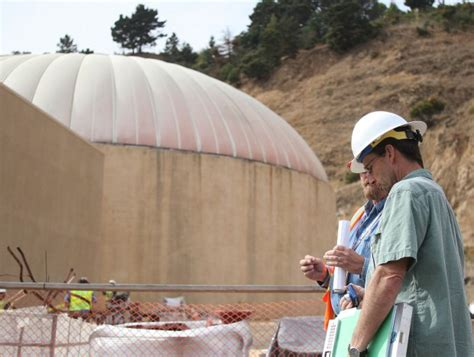 Going After Source Of Rehab Leak by Leaking Wastewater Treatment Dome Likely Source Of Foul