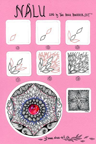 zentangle pattern nymph 43 best images about zentangle 174 pattern n on pinterest