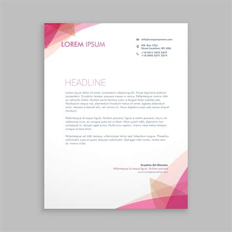 Letterhead Free Vector Art 16121 Free Downloads Letter Stationery Template