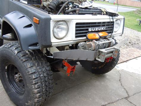 Suzuki Samurai Winch Bumpers J1 Metal Fabrication Suzuki Samurai Winch Bumper