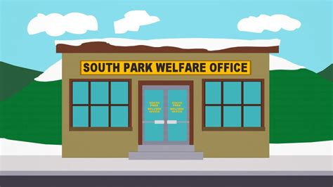 Welfare Office by South Park Welfare Office Official South Park Studios