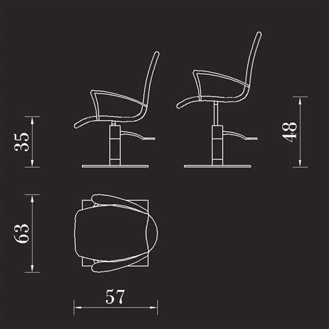 poltrona parrucchiere poltrona parrucchiere aki excel con base quadrata in acciaio