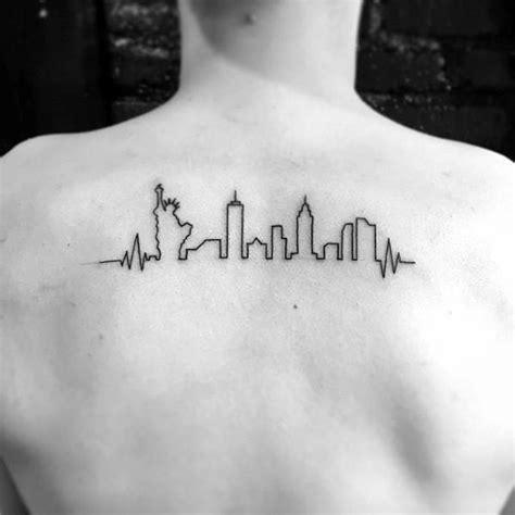 new york skyline tattoo designs 60 new york skyline designs for big apple ink