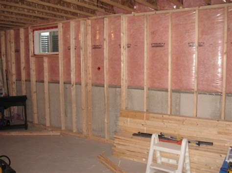 basement framing ontario