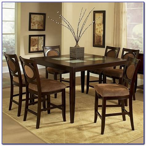 7 piece dining set with bench 7 piece counter height dining table sets dining room