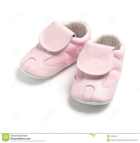 pink baby shoes stock photography image 12006752