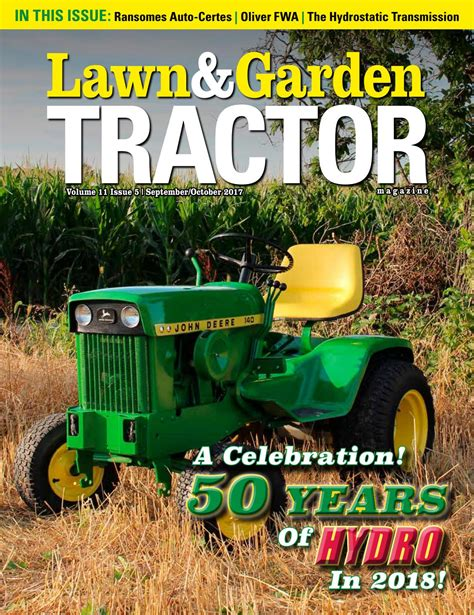 Lawn And Garden Tractor Magazine by Lawn Garden Tractor Magazine By Sherman Studios Issuu