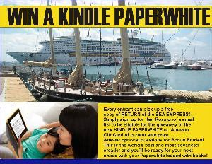 Amazon Gift Card Values - contest win a kindle paperwhite or equal value amazon gift card