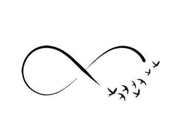 infinity smbol infinity clipart infinity symbol pencil and in color