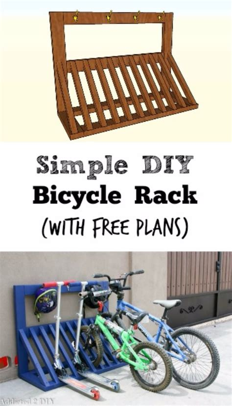 Bike Rack Plans by 36 Diy Ideas You Need For Your Garage Page 7 Of 7 Diy