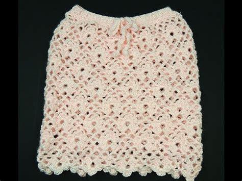 faldas de crochet para nina crochet falda angela para ni 241 as de 2 a 241 os youtube
