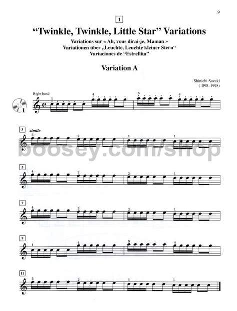 Suzuki Violin Book 1 Songs Suzuki Violin Book 1