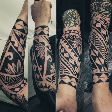 wrist and forearm maori male tattoos tatuagem