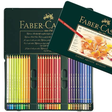 Sale Faber Castell Penggaris Set faber castell polychromos colouring pencil set of 60 cult pens