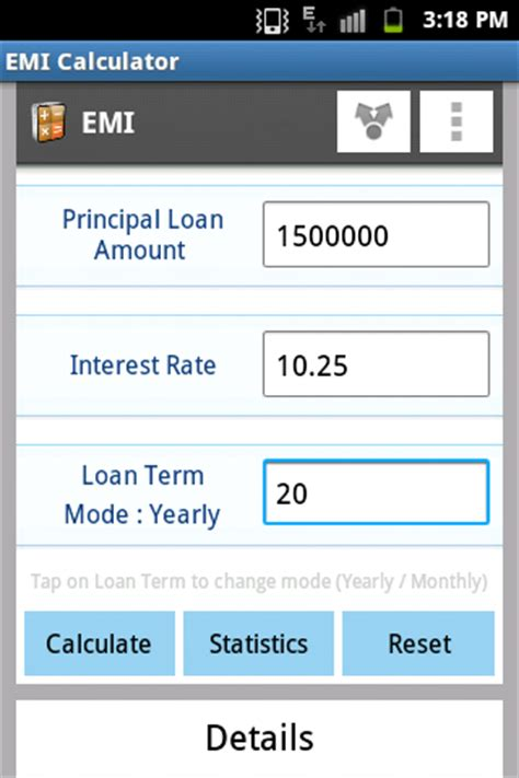 Credit Card Emi Calculation Formula In Excel Emi Calculator Hdfc Sbi Icici Android Apps On Play