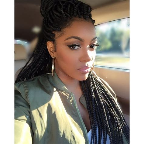 porsha williams porsha4real instagram photos websta 81 best images about braids on pinterest big box braids