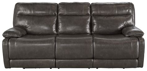 Leather Match Sofa Leather Match Contemporary Reclining Sofa By Signature Design By Wolf And Gardiner Wolf