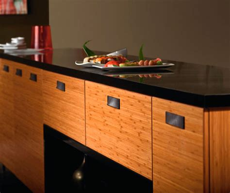 bamboo kitchen cabinets bamboo kitchen cabinets in natural finish kitchen craft