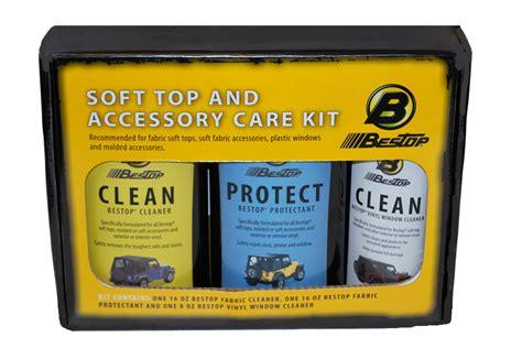 Jeep Soft Top Cleaner Bestop Jeep Soft Top Cleaner Kit Bestop Three Pack