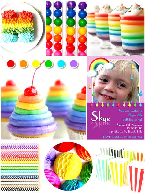 party themes april april showers rainbow birthday party ideas party ideas