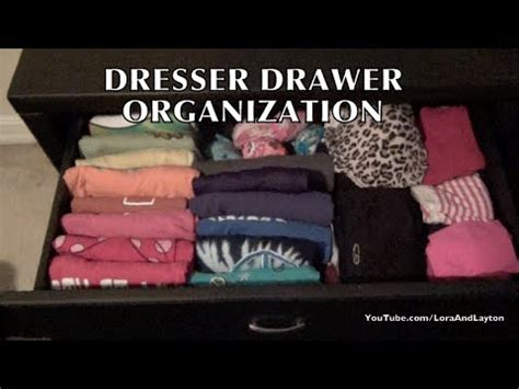 How To Organise Your Dresser by Dresser Drawers Organizing T Shirts Tank Tops