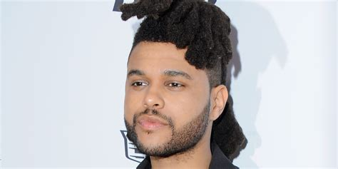 weeknd hairstyle the weeknd haircut mens hairstyles club fashion hair style