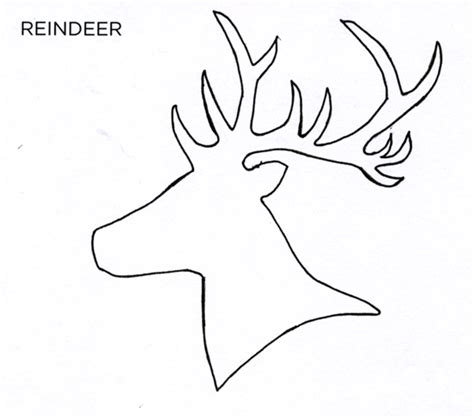 reindeer card template handmade cards style at home