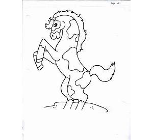 western screech owl coloring page free printable - Western Horse Coloring Pages