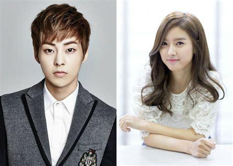 film korea xiumin exo exo s xiumin and kim so eun cast as leads in web drama