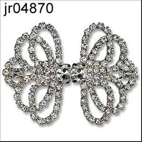 decorative jacket clasps diamante princess clasp