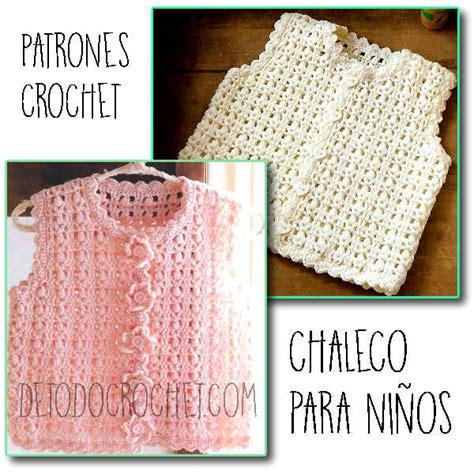 chaleco crochet para mujer abierto con botones paso a paso chaleco infantil al crochet patrones todo crochet