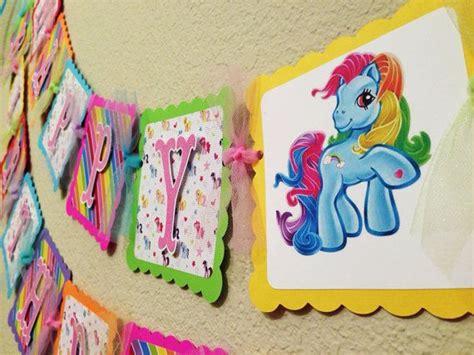 printable birthday banner my little pony 16 best my little pony birthday party images on pinterest