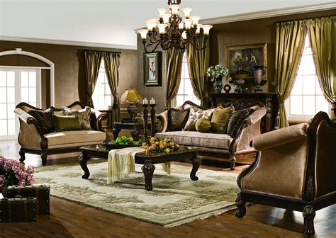 Furniture Living Room by The Venice Formal Living Room Collection