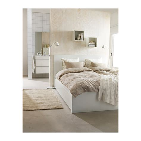 ikea double four poster bed frame and mattress in malm bed frame with 4 storage boxes white lur 246 y standard