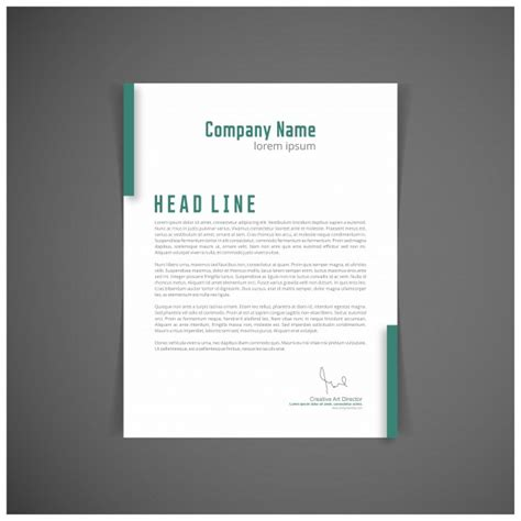 Business Letterhead Vector Free Business Letterhead Vector Free