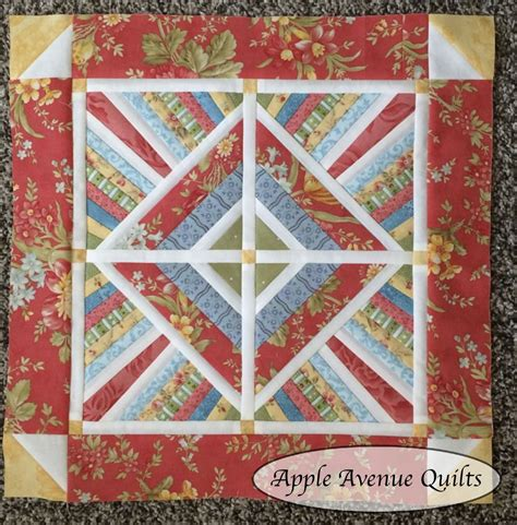 Small Quilt by Apple Avenue Quilts July S Miniature And Small Quilt With