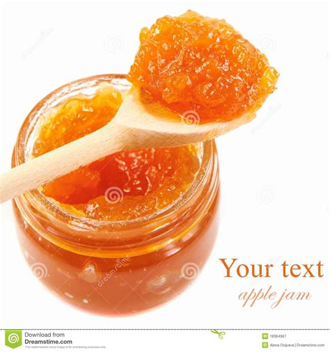 Apple Mba Recruiting by Apple Jam Stock Image Image Of Pectin Food Preserve