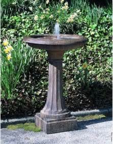 cania international longmeadow bird bath fountain ft