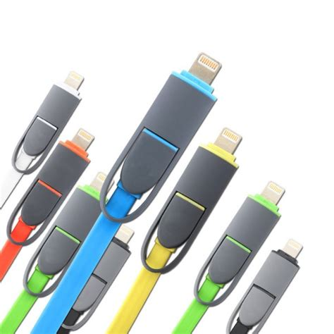 Kabel Usb 2 In 1 Lightning Micro Usb Android Ios 11 Green Hijau 1 kabel usb 2 in 1 lightning micro usb untuk android ios
