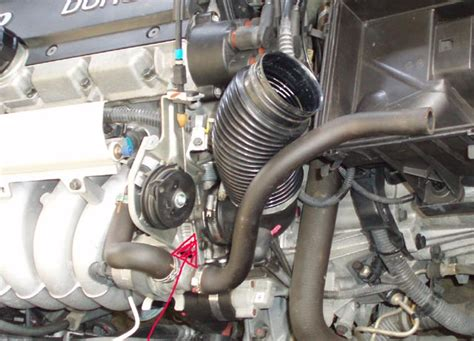 throttle body located volvo forums