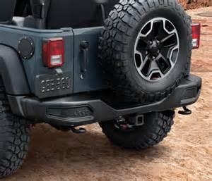 My Jeep Accessories Rubicon 10th Anniversary Rear Bumper Jeep Wrangler 2