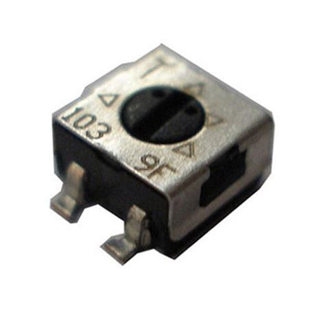 smd adjustable resistor variable resistor smd 28 images 3364w 1 105e bourns inc potentiometers variable resistors